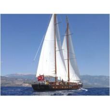 bsty135 - 25.6m Schooner - 2000 Turkey